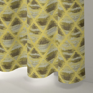 Style Studio Curtis Sunflower Curtain