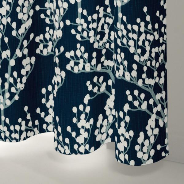 Style Studio Peyton Navy Curtain