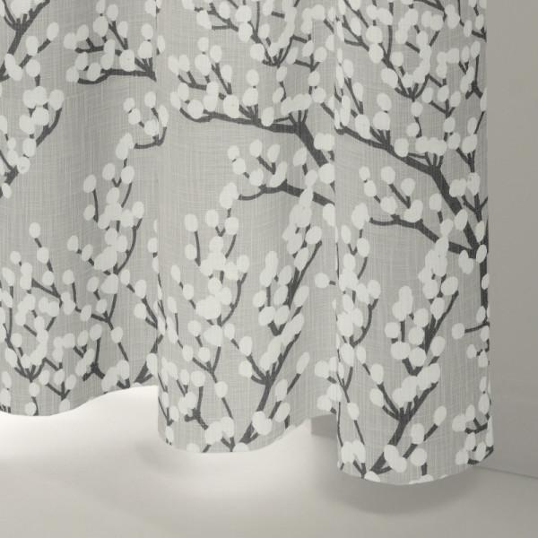 Style Studio Peyton Silver Curtain