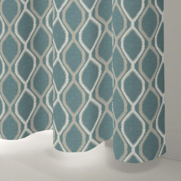 Style Studio Monroe Teal Curtain