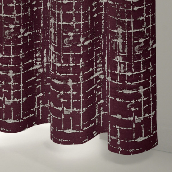 Style Studio Maverick Berry Curtain