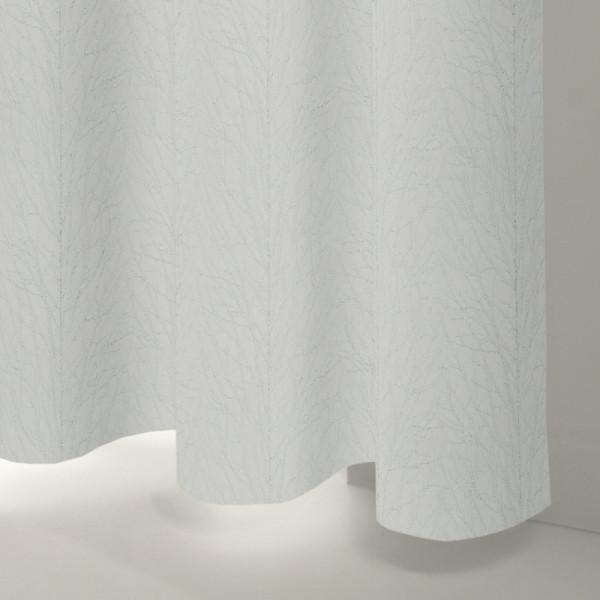 Style Studio Rumi Silver Curtain