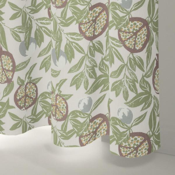 Style Studio Cardi Olive Curtain