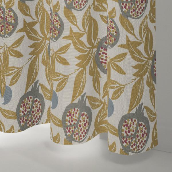Style Studio Cardi Ochre Curtain