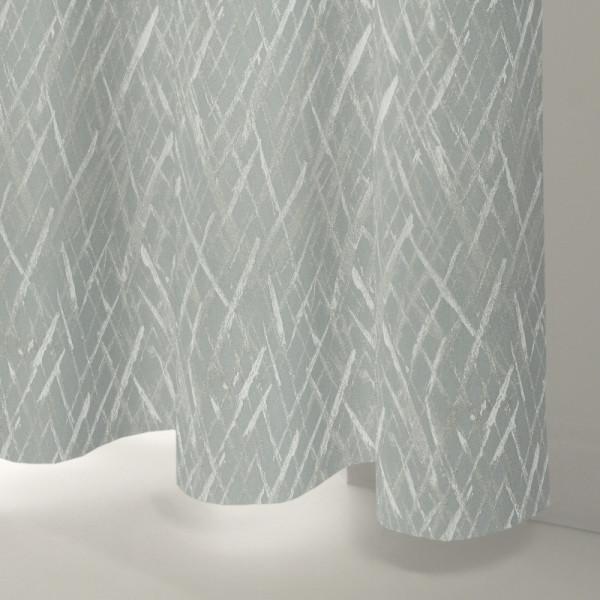 Style Studio Zyra Silver Curtain