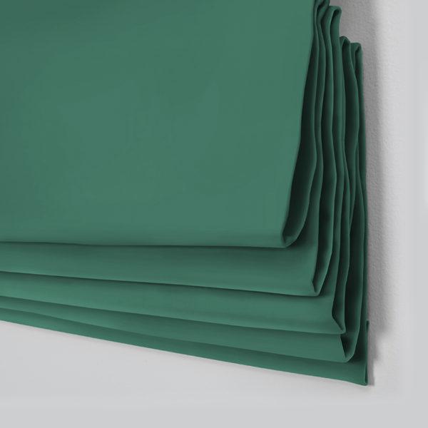 Style Studio Oasis Emerald Roman Blind