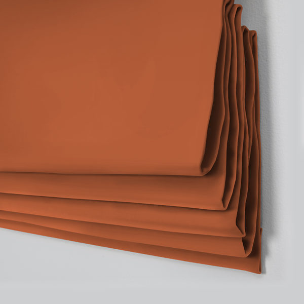 Style Studio Oasis Orange Roman Blind