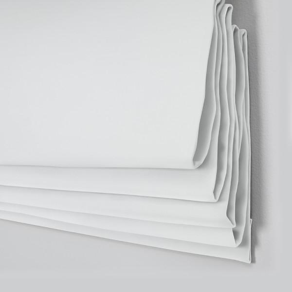 Style Studio Oasis White Roman Blind