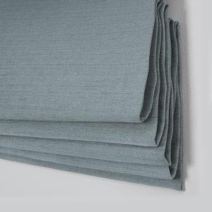 Style Studio Rattan Powder Blue Roman Blind