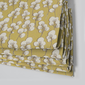 Style Studio Chia Sunflower Roman Blind