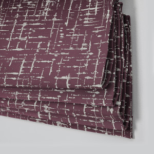 Style Studio Maverick Berry Roman Blind