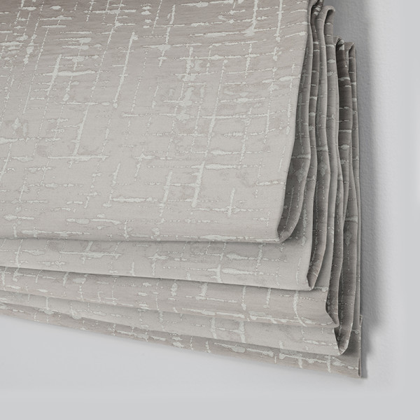 Style Studio Maverick Pewter Roman Blind