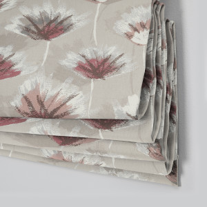 Style Studio Crosby Rose Roman Blind