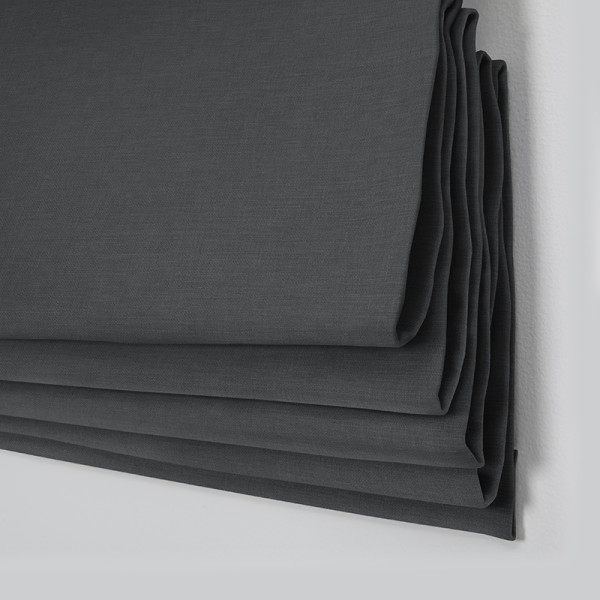 Style Studio Lima Charcoal Roman Blind