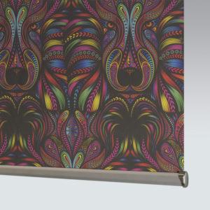 Style Studio Aslan Blackout Rainbow Roller Blind