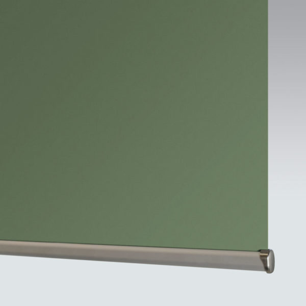 Style Studio Banlight Duo FR Forest Green Blackout Roller Blind