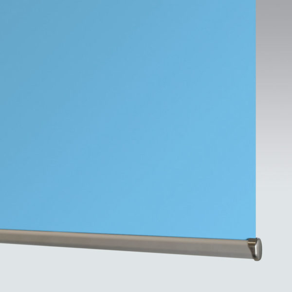 Style Studio Banlight Duo FR Powder Blue Blackout Roller Blind