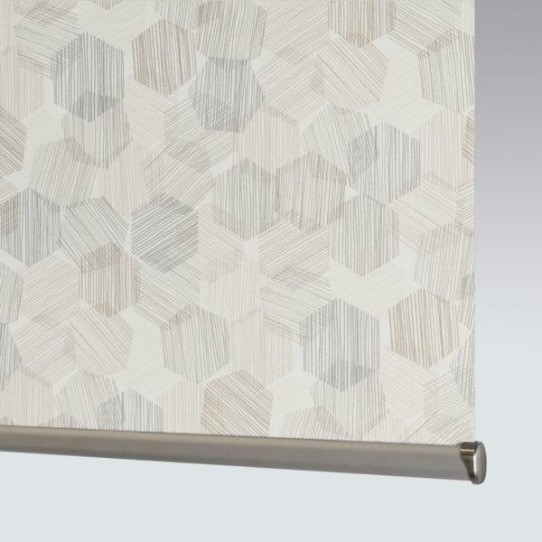 Style Studio Hexagon Natural Roller Blind