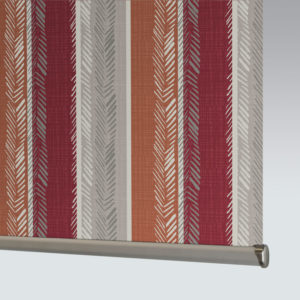 Style Studio Indiana Orange Roller Blind