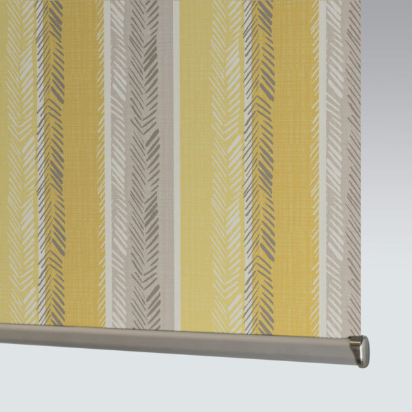 Style Studio Indiana Yellow Roller Blind