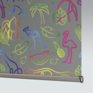 Style Studio Neon Glow Roller Blind