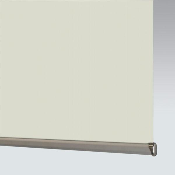 Style Studio Whisper 3% White Linen Roller Blind