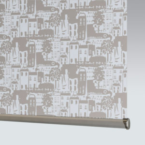 Style Studio Whitby Blackout Stone Grey Roller Blind