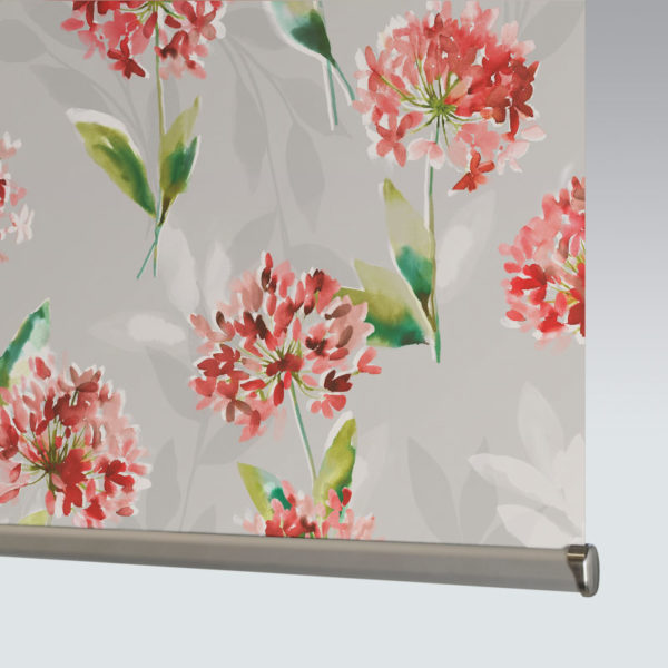 Style Studio Zinnia Blackout Orange Roller Blind