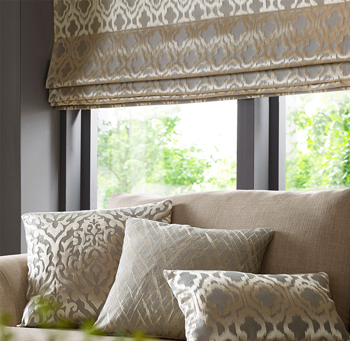 Style of Roman Blinds