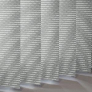 Style Studio Aspen Platinum Vertical Blind