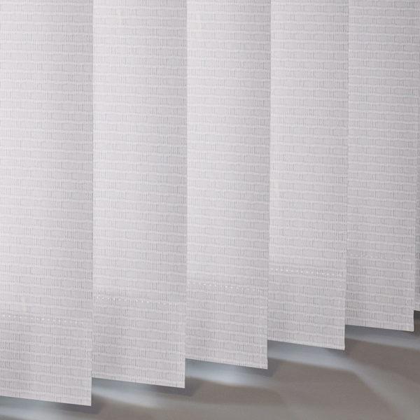 Style Studio Aspen Snowdrop Vertical Blind