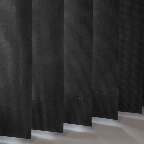 Style Studio Atlantex Black Vertical Blind