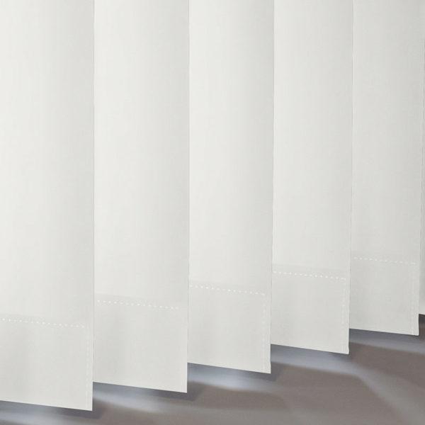 Style Studio Banlight Duo FR Bright White Vertical Blind