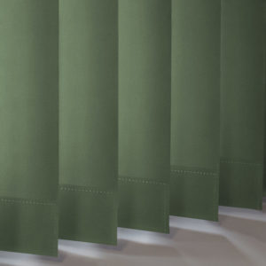 Style Studio Banlight Duo FR Forest Green Vertical Blind