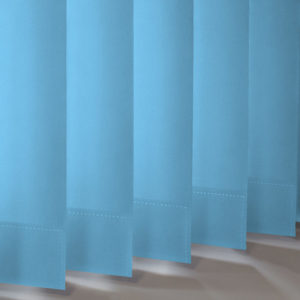 Style Studio Banlight Duo FR Powder Blue Vertical Blind