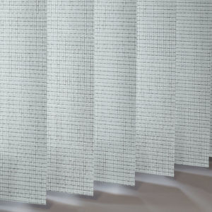 Style Studio Brock Graphite Vertical Blind