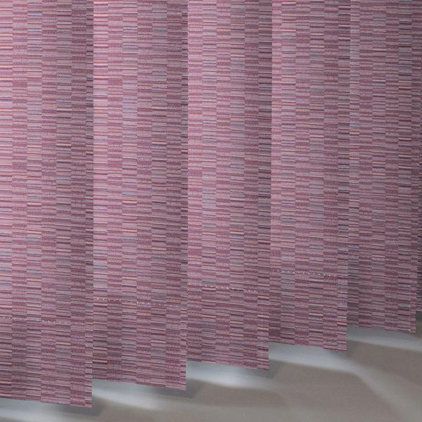 Style Studio Floyd asc Fuschia Vertical Blind