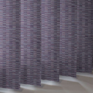 Style Studio Floyd asc Mulberry Vertical Blind