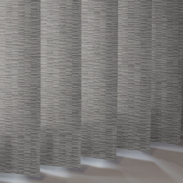 Style Studio Floyd asc Silver Vertical Blind