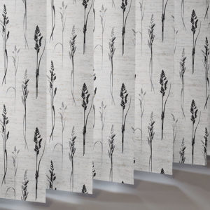 Style Studio Grasses Noir Vertical Blind