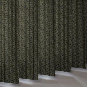 Style Studio Mira Bright Gold Vertical Blind