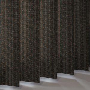 Style Studio Mira Copper Vertical Blind