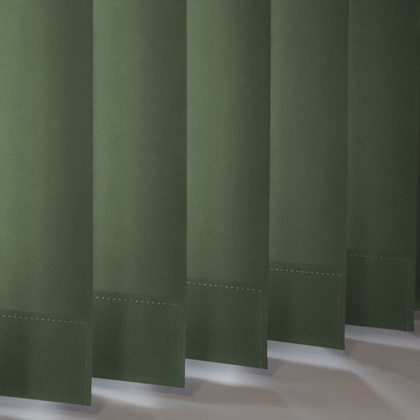 Style Studio Palette Forest Green Vertical Blind