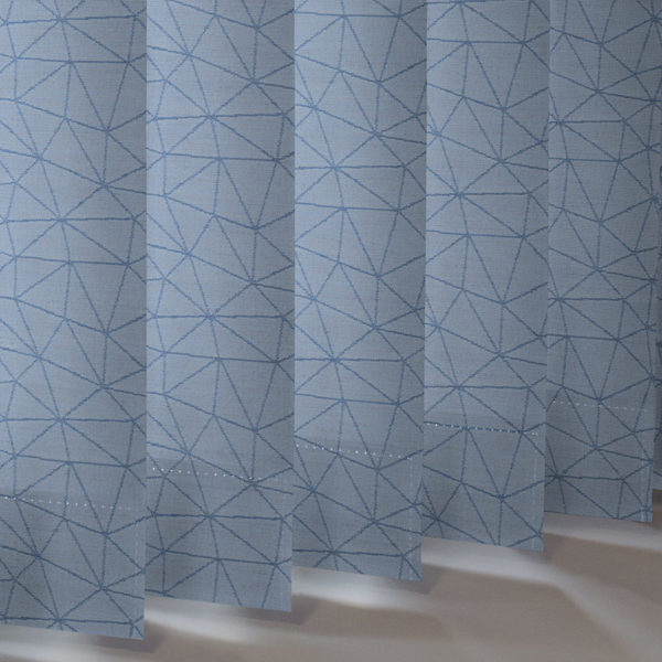 Style Studio Polygon asc Azure Vertical Blind