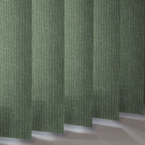 Style Studio Ribbons asc Forest Green Vertical Blind