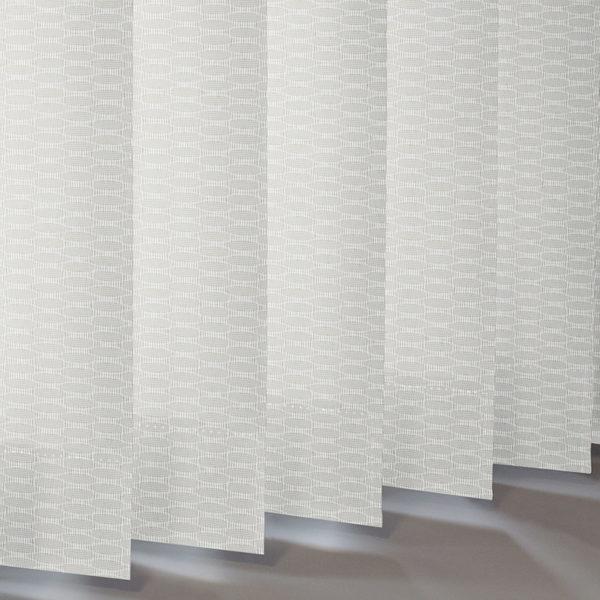 Style Studio Tinto White Vertical Blind
