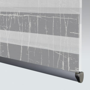 Style Studio Crackle Pewter Mirage Blind