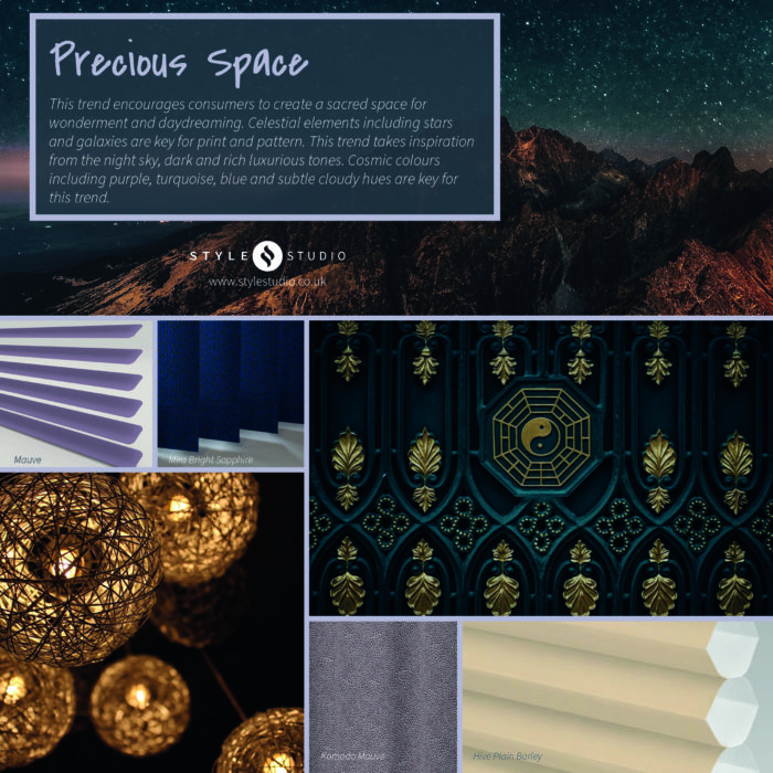 Style Studio Precious Space Colours Inspiration