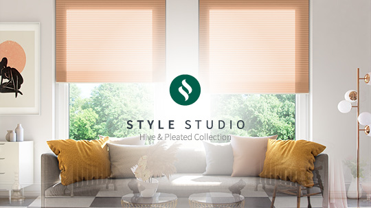 Style Studio Hive & Pleated Blinds Collection Video